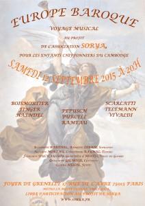 Flyer Concert 12 Septembre 2015
